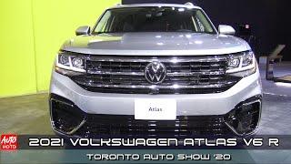 2021 Volkswagen Atlas V6 R - Exterior And Interior - Toronto Auto Show 2020