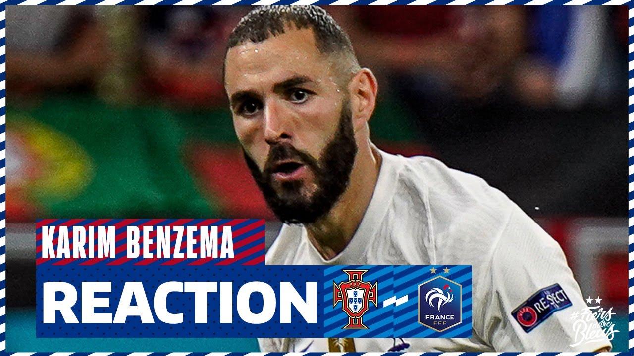 La réaction de Karim Benzema, Équipe de France I FFF 2021