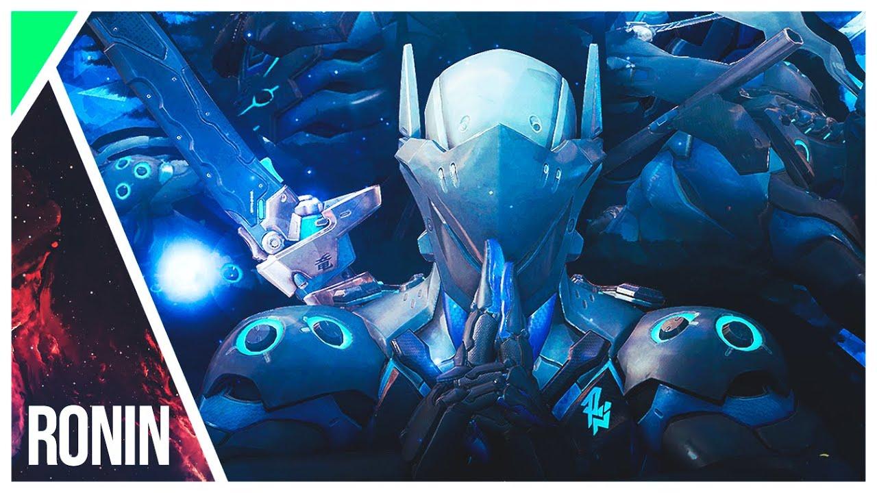 Wallpaper - Chrome Genji - Overwatch