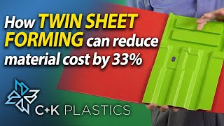 Twin Sheet Forming can save up to 33% of the cost of materials - C&K Plastics