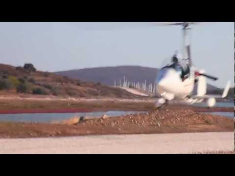 How to fly a gyrocopter with the engine turned off