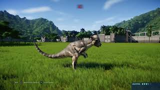 Jurassic World Evolution: Troodon pack vs Pachycephalosaurus