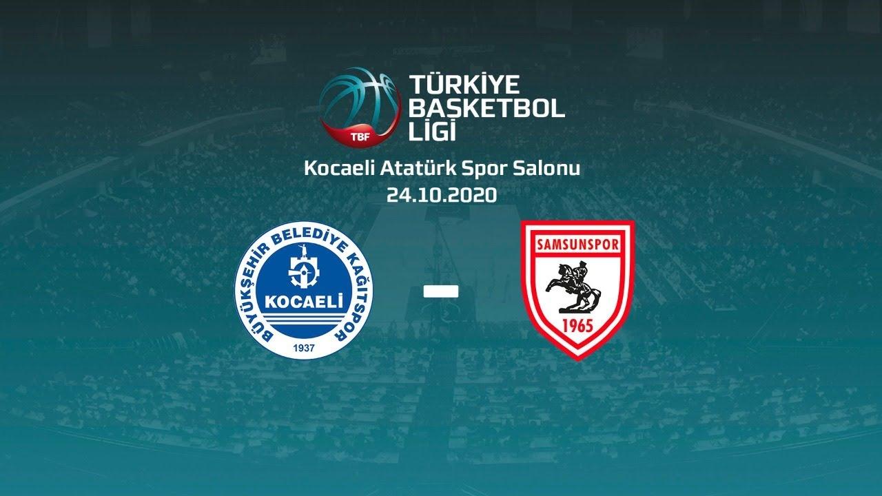 Kocaeli Bşb. Kağıtspor – Samsunspor TBL 2.Hafta