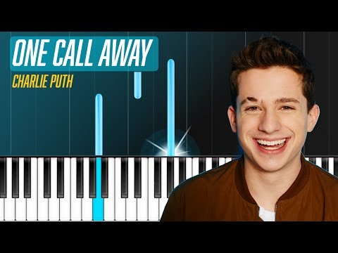 "Piano piano chords of one call away : Charlie Puth - ""One Call Away"" Piano Tutorial - Chords - How To ..."
