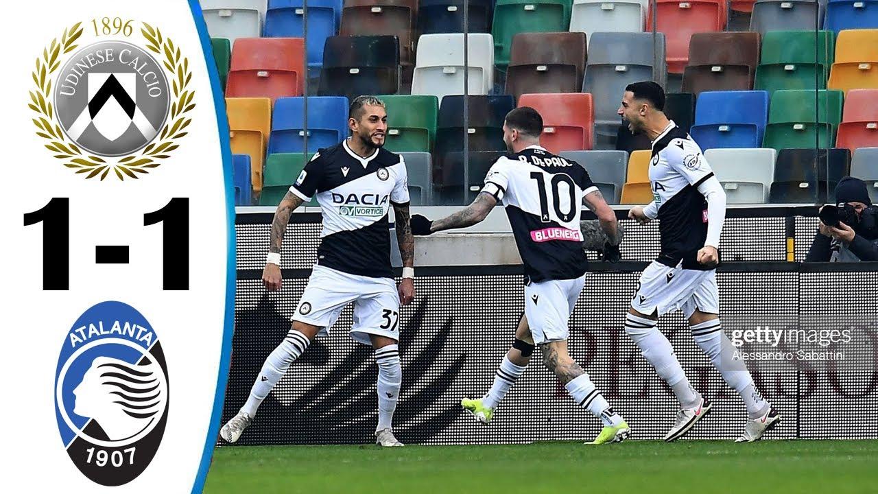 Download Udinese vs Atalanta 1-1 All Goals & Highlights 20/01/2021 HD