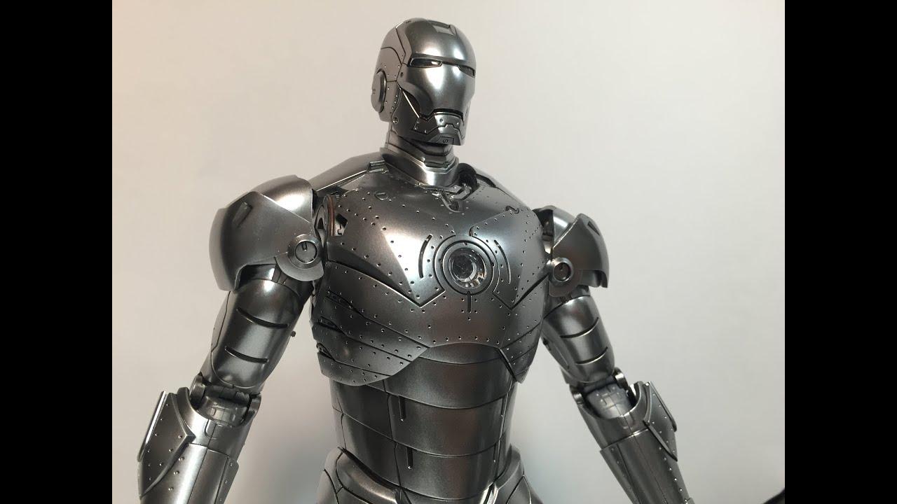 Хот Тойс Железный Человек Марк 2 (Версия 2.0) - YouTube