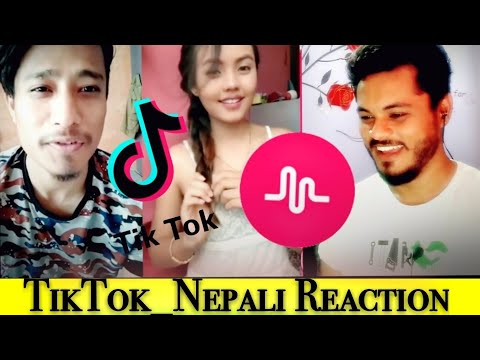 TIKTOK_Nepal (Musically/Musical.ly Nepal) Funny Face Video Reaction