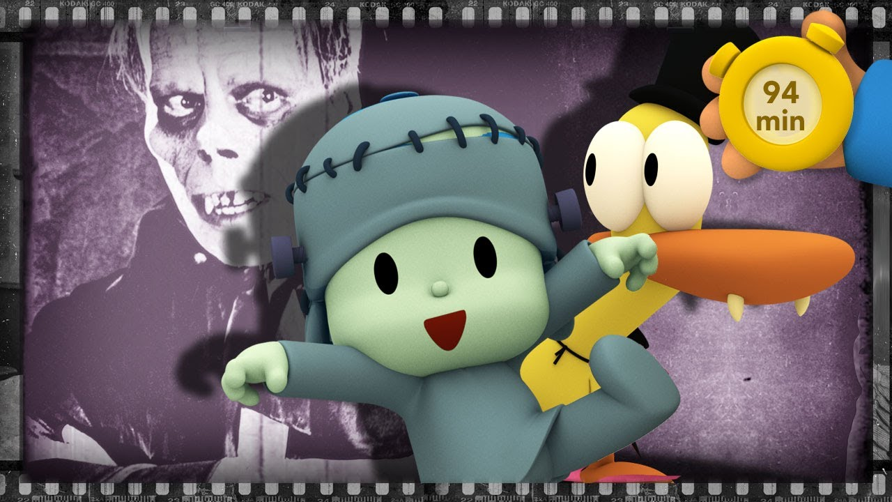 💀 POCOYO AND NINA - Scary movies for kids [94 min] | ANIMATED CARTOON for Children | FULL episodes