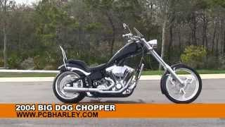 Used 2004 Big Dog Custom Chopper Motorcycles For Sale