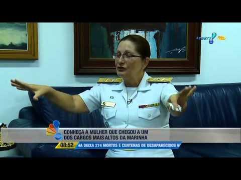Se Liga Brasil:  Conheça A Mulher Que Chegou A Um Dos Cargos Mais Altos Da Marinha