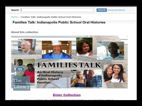 Library Adds IPS Oral History Project to Online Digital Collection