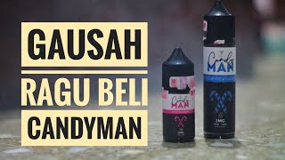 REVIEW LIQUID CANDY MAN SOUR STRAWBERRY + HONEYDEW CANDY