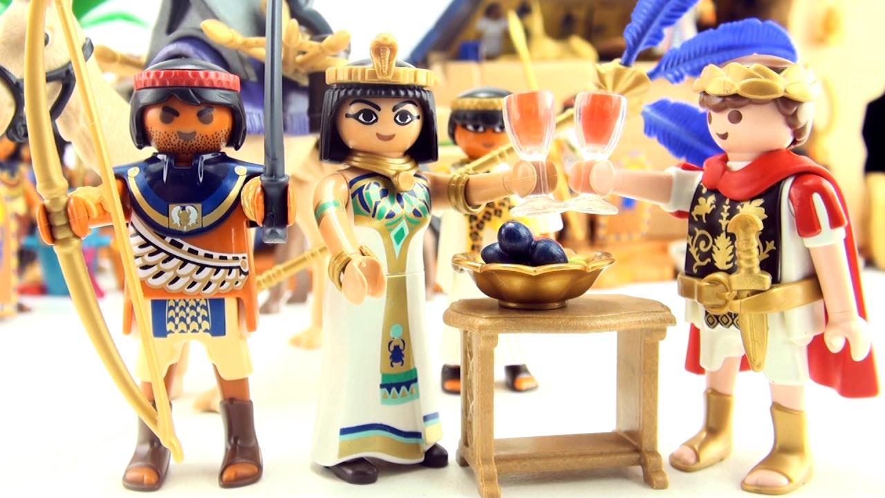 Playmobil toys caesar and cleopatra egyptian warrior - Playmobil egyptien ...