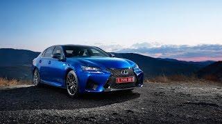 2015 Lexus GS F в статике и динамике