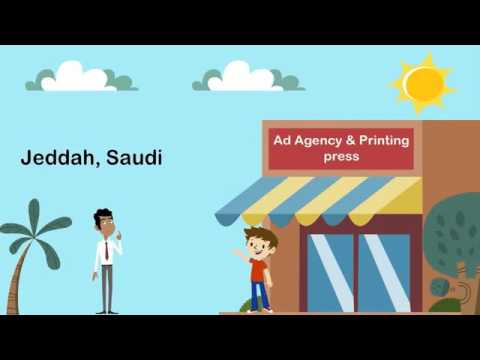 Advertising company in Jeddah and Saudi graphic designer company