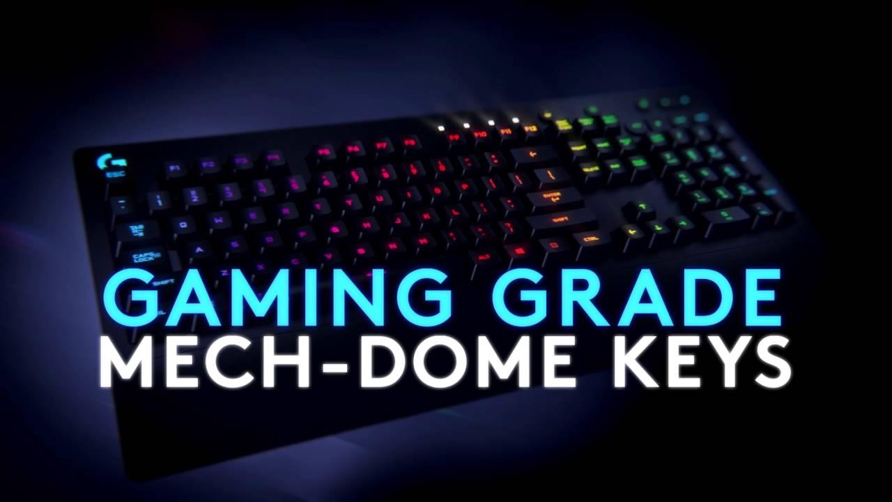 Logitech G213 Prodigy Gaming Keyboard with RGB Lighting & Anti-Ghosting