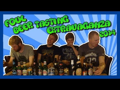 Foul Beer Tasting Extravaganza (2014 Edition)