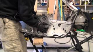 Episode #5 Ski doo Rev Mod 700 chaincase install, reinforcement instal. PowerModz!