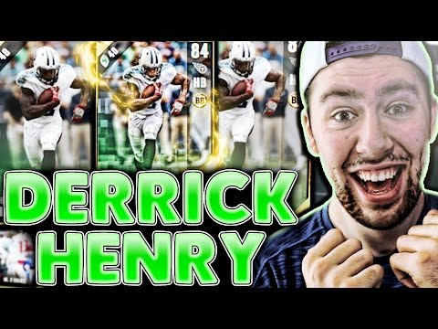 DERRICK HENRY 4 TOUCHDOWNS!!! CRAZY EPIC GAME!!! | MADDEN 17 ULTIMATE TEAM