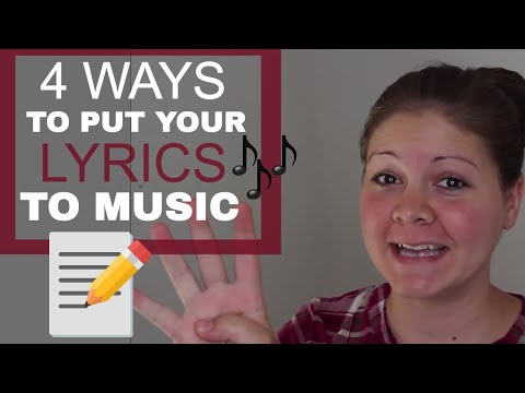 4 Ways to Put Your Lyrics To Music | Songwriting Tips for Beginners | Rustic Songbird
