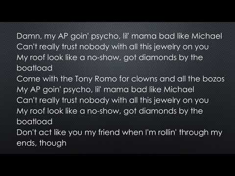 Post Malone - Psycho ft  Ty Dolla $ign (official lyrics)