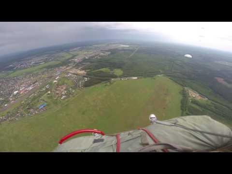 первый прыжок с высоты 800 метров