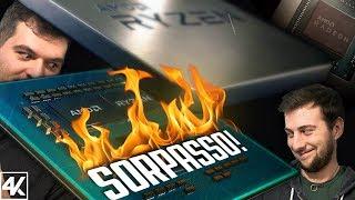 AMD RYZEN 3000, FINALMENTE IL SORPASSO!