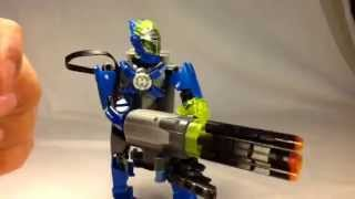 Jbbricks How To Build Lego Hero Factory Chain Gun