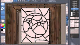 ZBrush Stained Glass