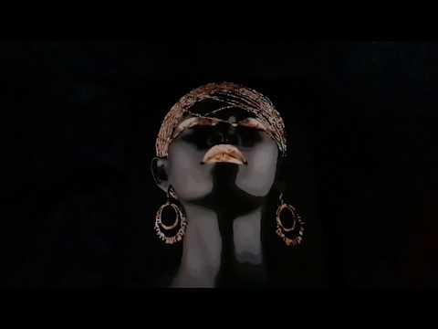Картина по номерам с красками металлик, очень красивая  Африканская принцесса 💚