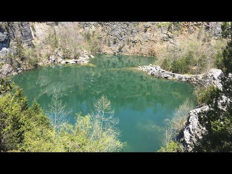 Fishing Different Ponds And Finding A Massive Rock Quarry