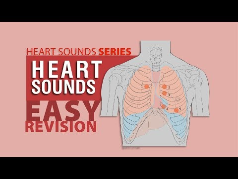 Complete Heart Sounds In 7 minutes  with Heart Sounds Audio