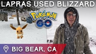 POKÉMON GO IN A SNOWSTORM + HOLIDAY EVENTS & 5000 NEW POKÉSTOPS