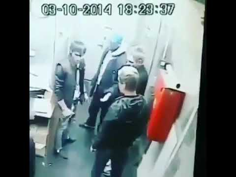 Таджики Вырубили Русского Шок
