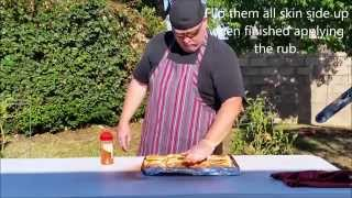 Glenn Connaughton Of Revolution Barbecue Makes Smoked Chicken Thighs With Jack Daniels Glaze