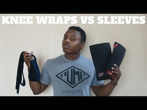 Let's Talk About Knee Wraps & Knee Sleeves