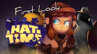 First Look at A Hat in Time - A Brand New N64-style Platformer