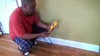 How to check an outlet with a digital multimeter