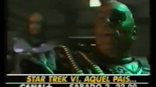 Anuncio de C+ Star Trek VI Aquel pais desconocido