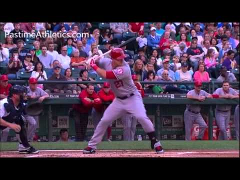 Slow Motion Baseball Swing >> MIKE TROUT Home Run Baseball Swing Slow Motion Hitting Mechanics Analysis Instruction Angels MLB ...