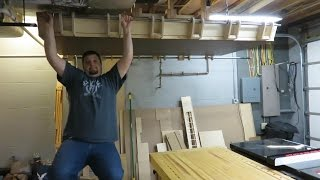 Ceiling Hung, Folding Sheet Good Storage - Part 6