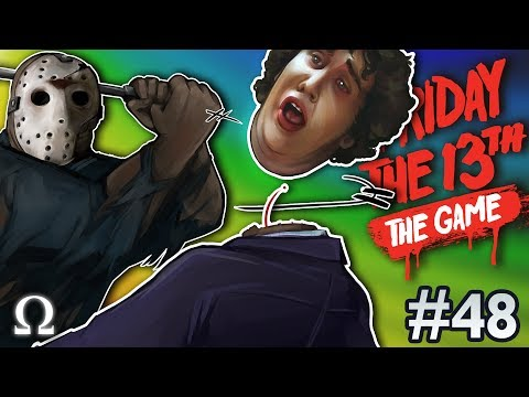 NEW JASON MACHETE FINISHERS + COUNSELOR! | Friday the 13th The Game #48 Ft. Friends
