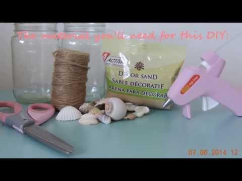 diy-beach-themed-mason-jars-*room-decor/party-accessories*