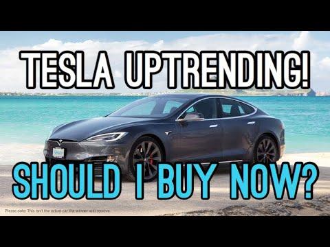 Tesla Uptrending Should I Buy?   My Story with Tesla - YouTube