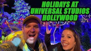 Tyler & Katrina explore Holidays at Universal Studios Hollywood!