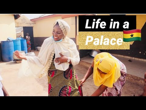 I Left UK to Ghana to Be The King's 4th Wife in Africa ?   Life in a Ghanaian Palace in West Africa