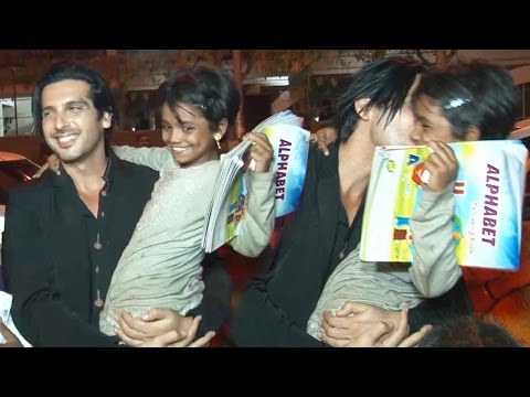 AWW! Zayed Khan LIFTS And KISSES A Slum Girl