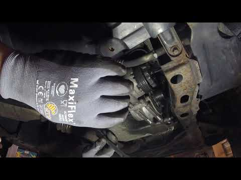 Mercedes A-Klasse / Vaneo 170 CDI Lichtmaschine Wechseln II Alternator Replace DIY