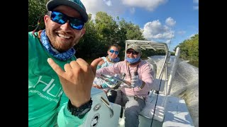 Cynthia and Carlos on FLY | Rhino Diaries | Everglades National Park