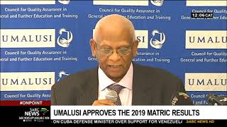 Umalusi approves the 2019 Matric results